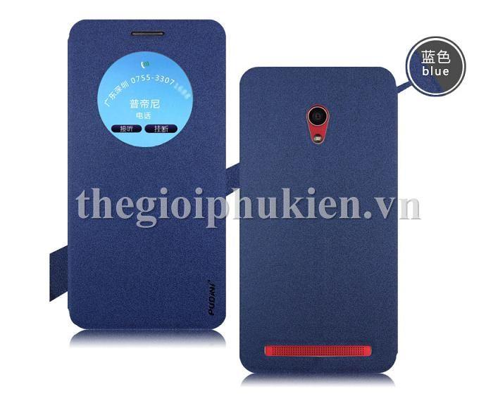 Bao da Zenfone 6 chinh hang PUDINI - 1