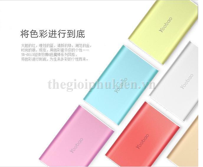 pin du phong yoobao 6000 s3 2