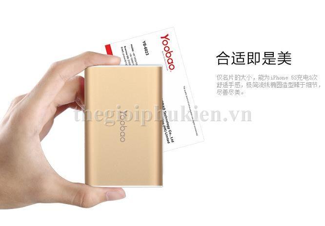 pin du phong yoobao 6000 s3 3