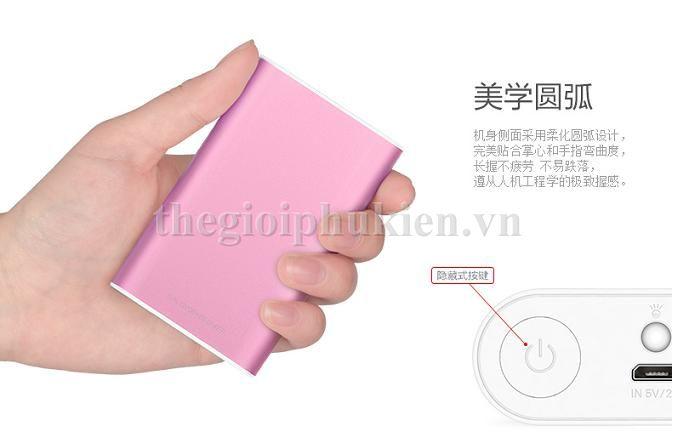 pin du phong yoobao 6000 s3 6