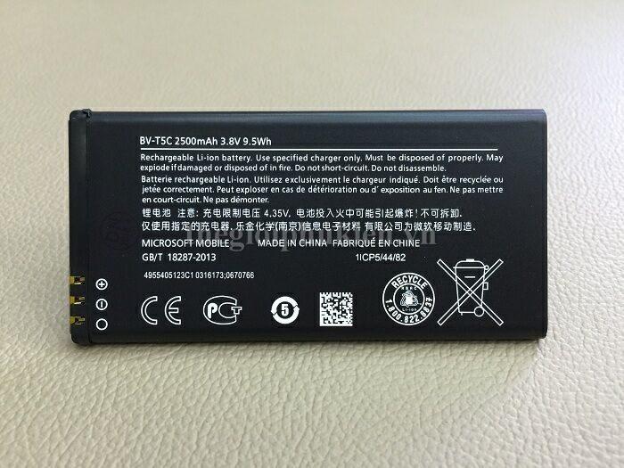 Pin Microsoft Bv T5c Cho Microsoft Lumia 640 Ch 237 Nh H 227 Ng
