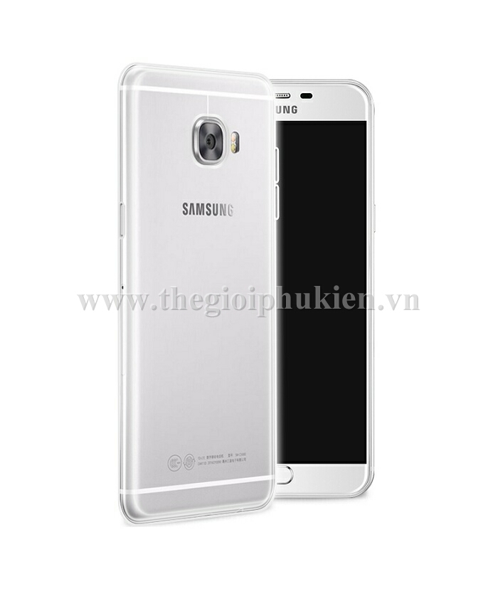 op lung galaxy c5, c7 silicon deo trong suot (5)