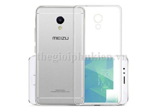 Ốp silicon dẻo trong suốt Meizu M5s siêu mỏng 0 5 mm