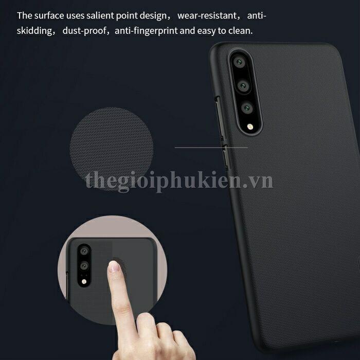 Ốp lưng Huawei P20 Pro chính hãng Nillkin dạng sần